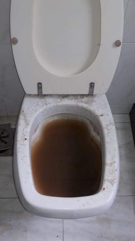 Realizado o desentupimento do vaso sanitário