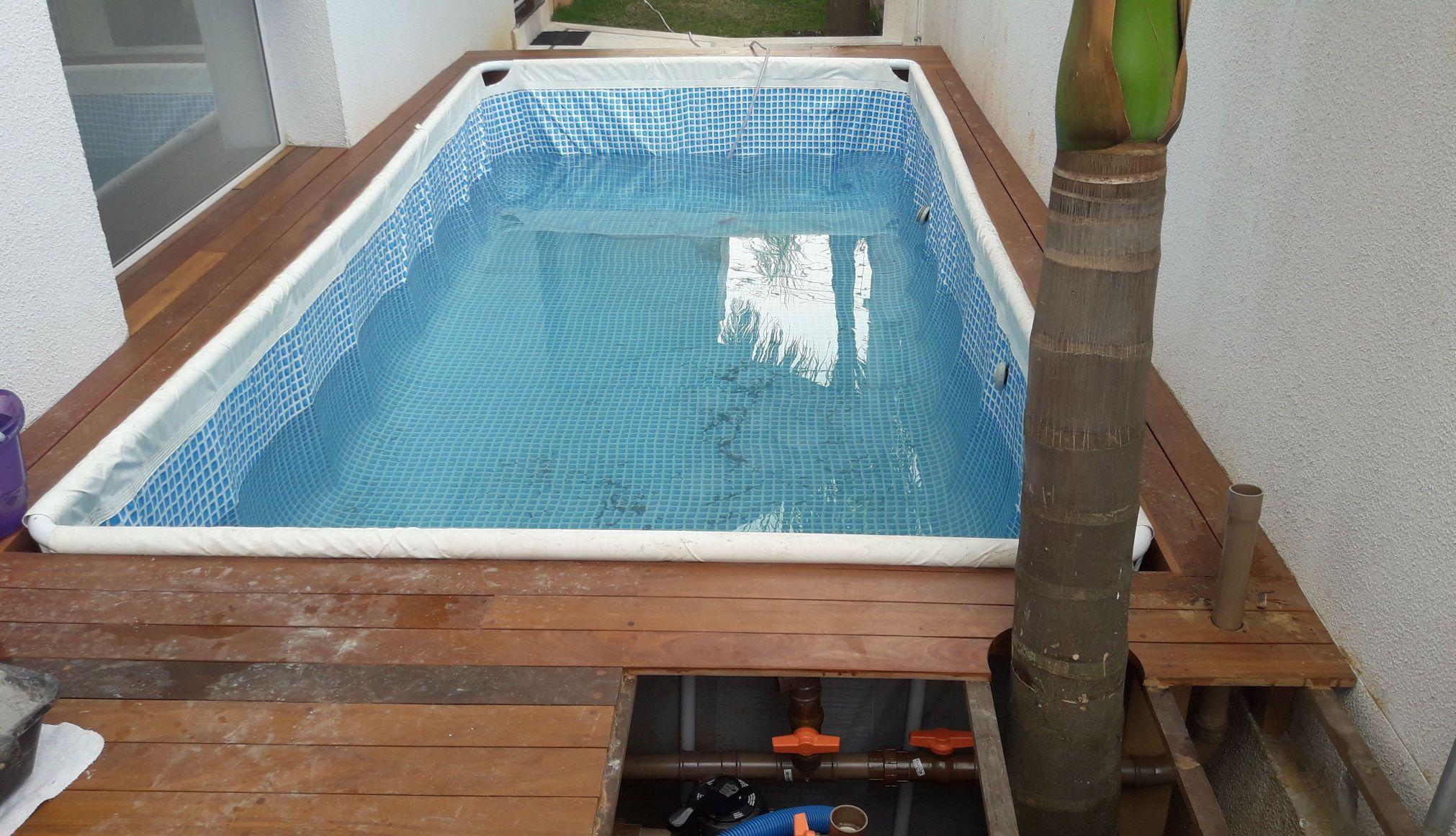 piscina com aquecedor