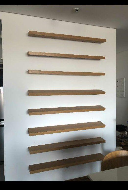 retirada de prateleiras da parede drywall