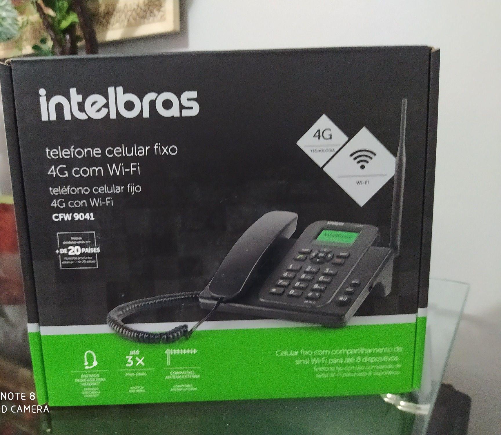 telefone com internet rural kit completo