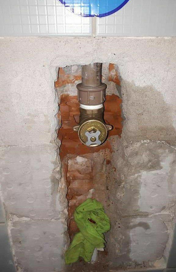 troca da válvula hidra