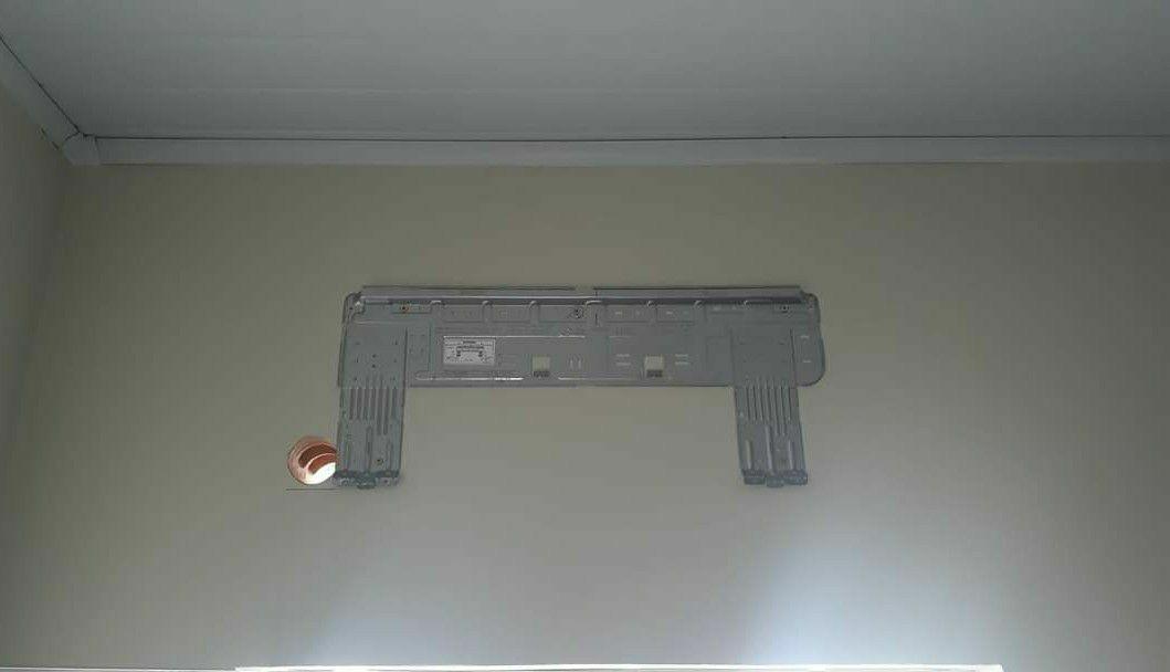 instalação de máquina de ar condicionado
