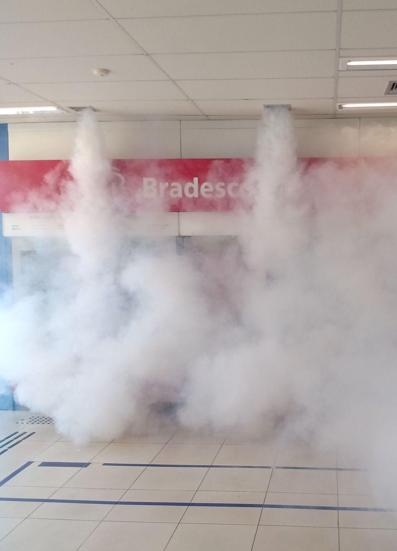 geradores de neblina Interlagodo com Cftv