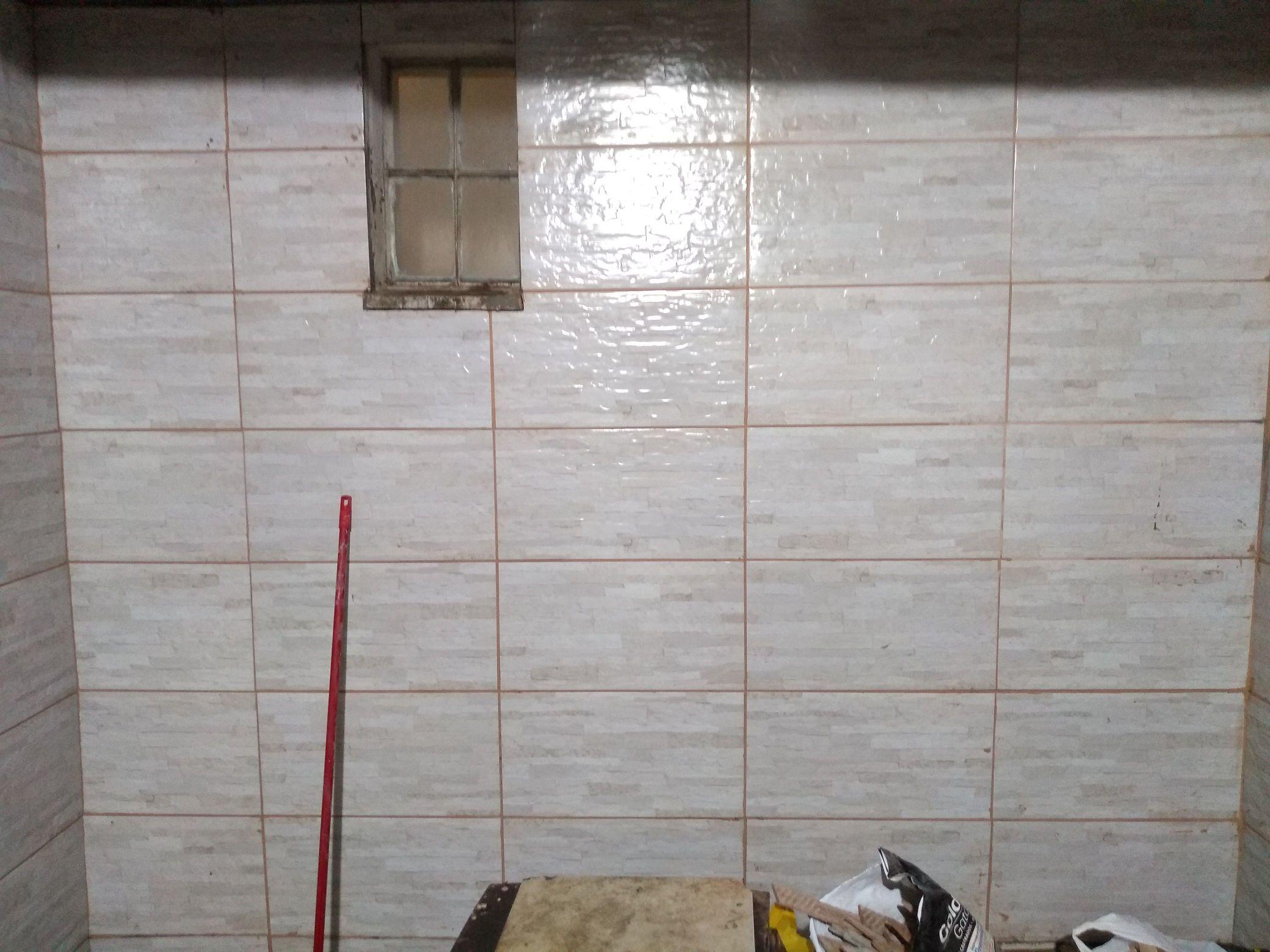 colocação de cerâmica
