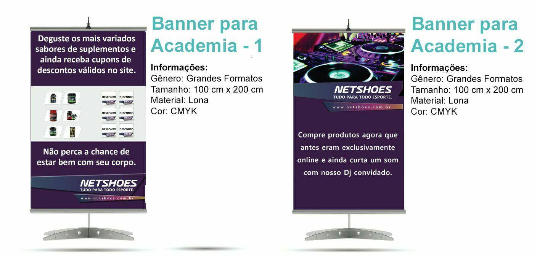 Banner para academia