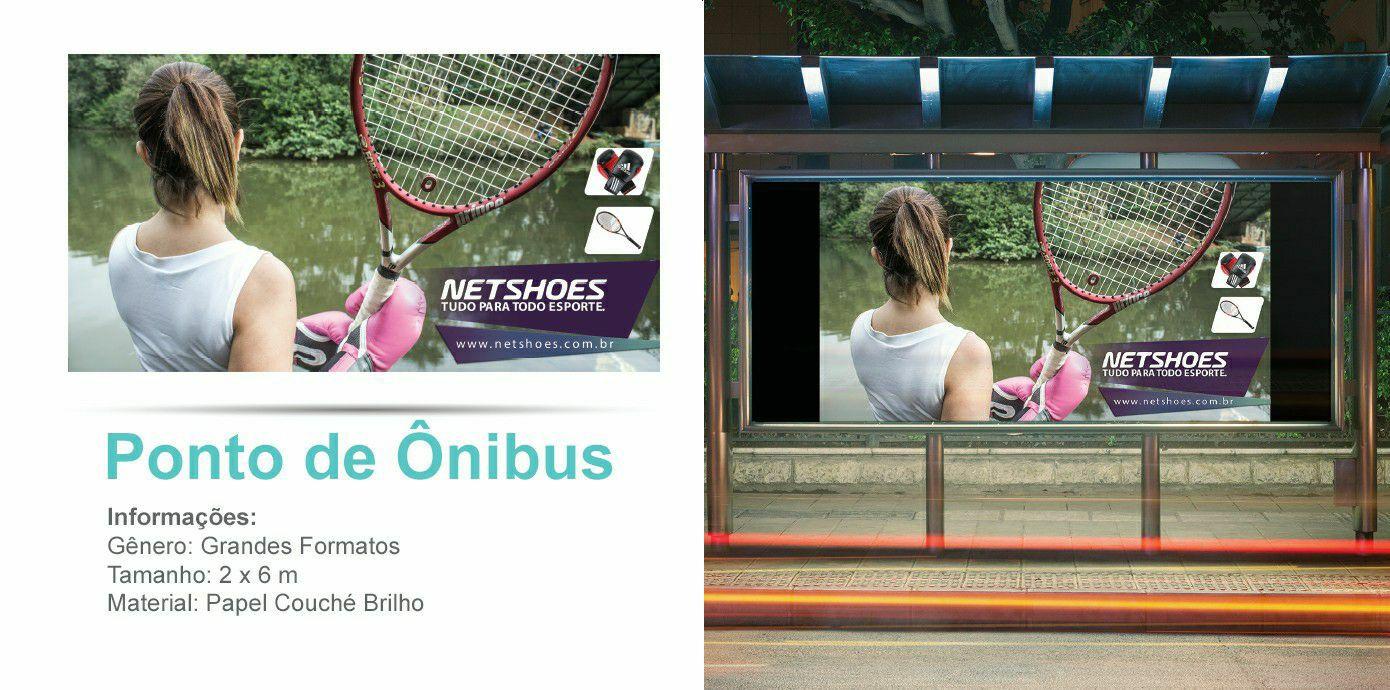 Mídia alternativa para ponto de ônibus