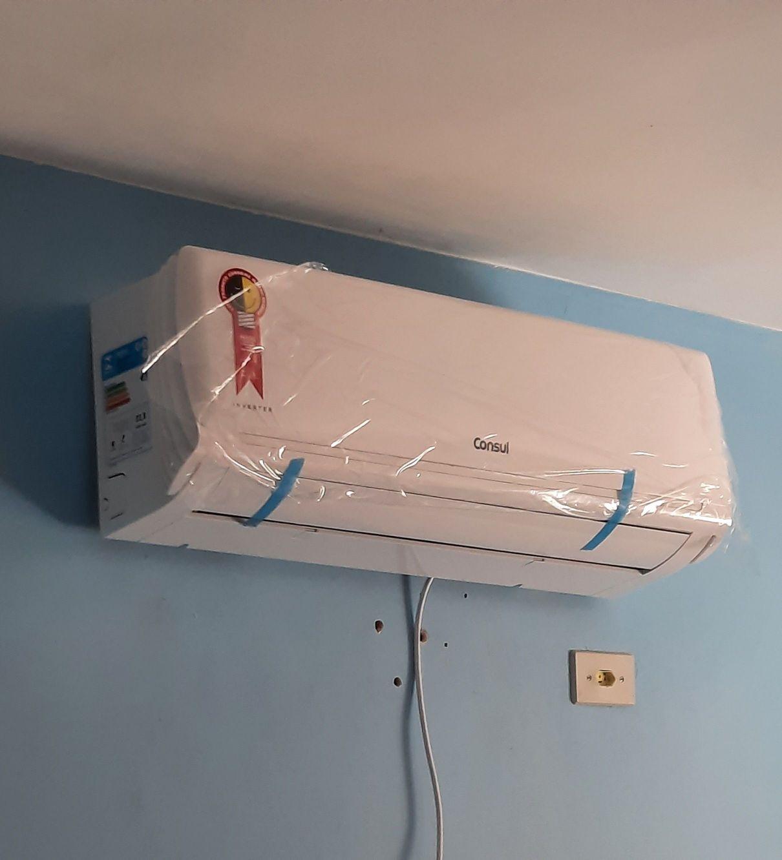 Instalação evaporadora Consul Inverter