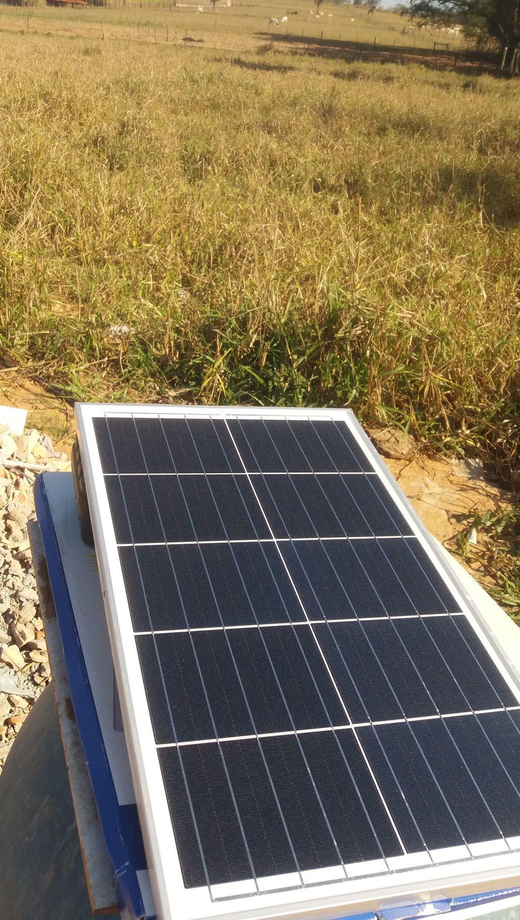 Instalação de placas solar