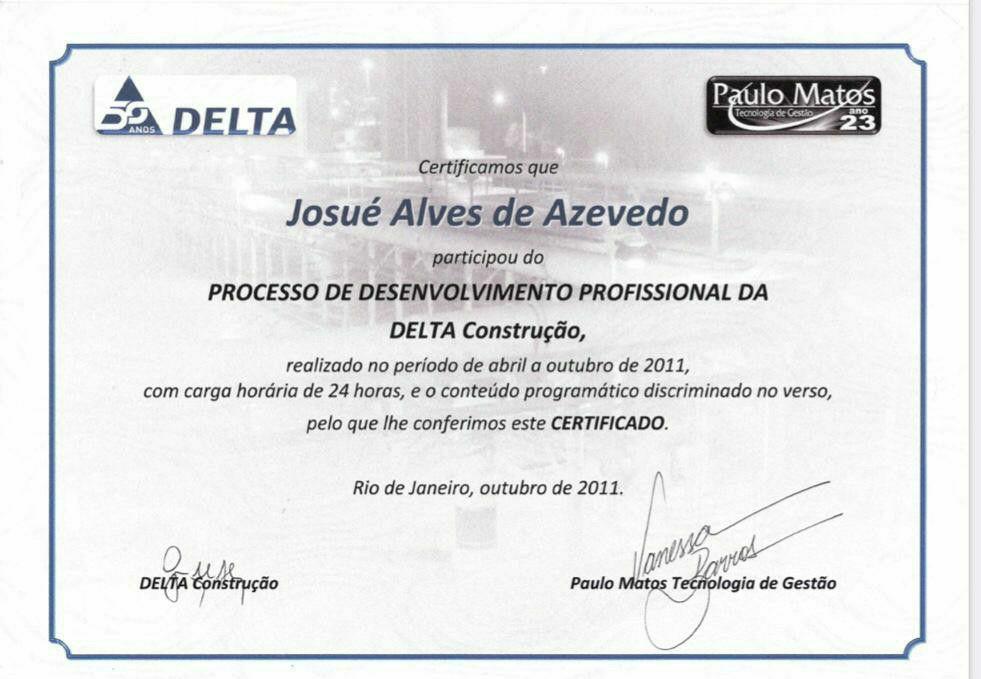 Certificado Proc. Desenv. Profisional