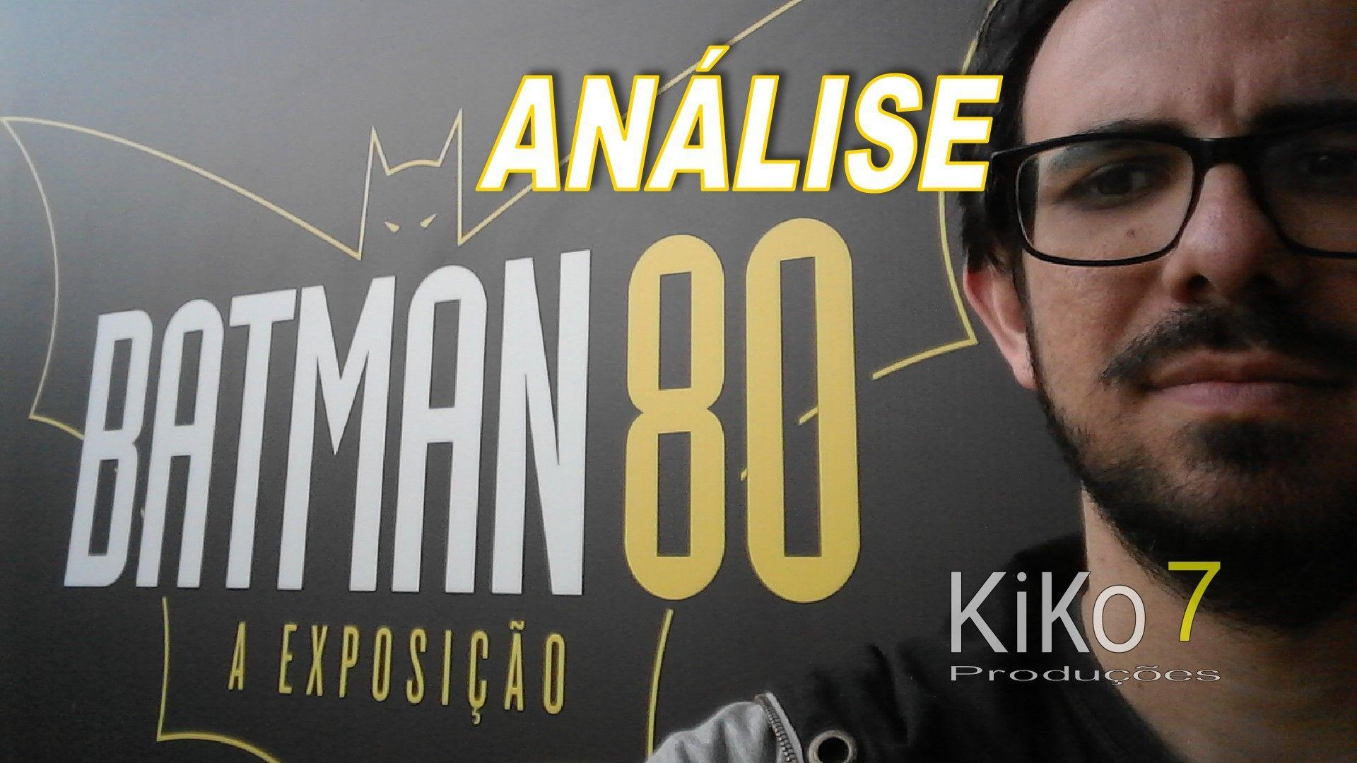 """Capa """"Análise: Batman 80"""""""