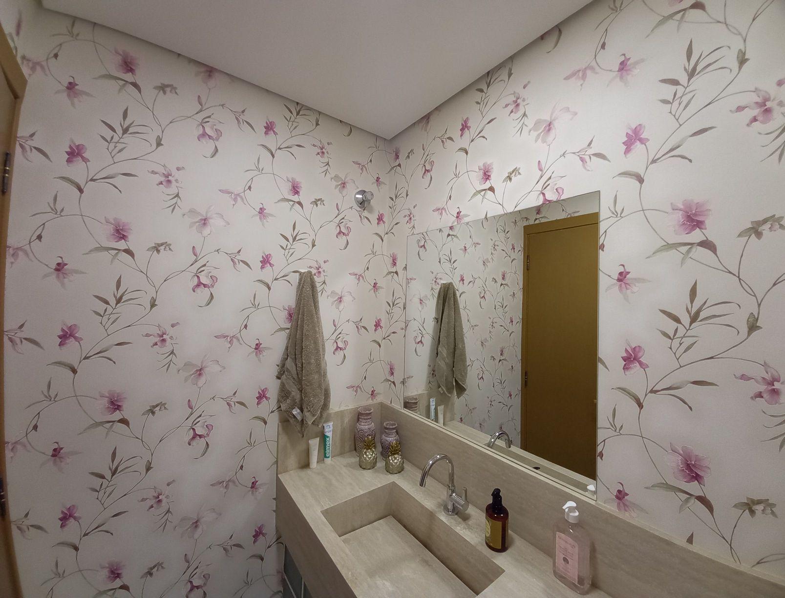 lavabo floral perfeito
