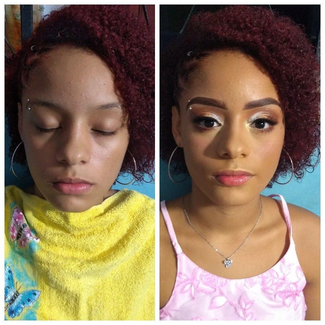 Antes e Depois 😍