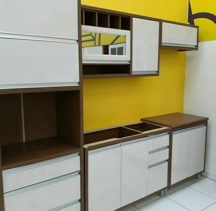 Montagem e instalação de moveis da cozinha.
