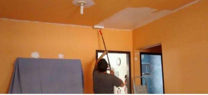pintura de residência