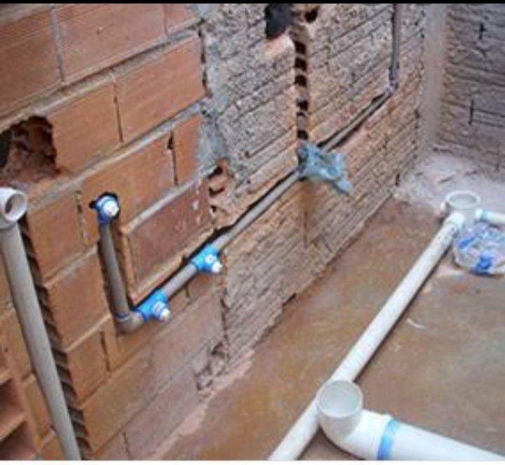servicos de instalações hidrosanitaria