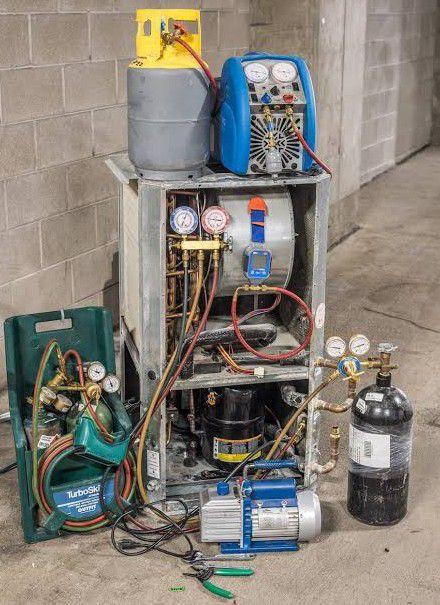 Reoperação Sistema Refrigeração