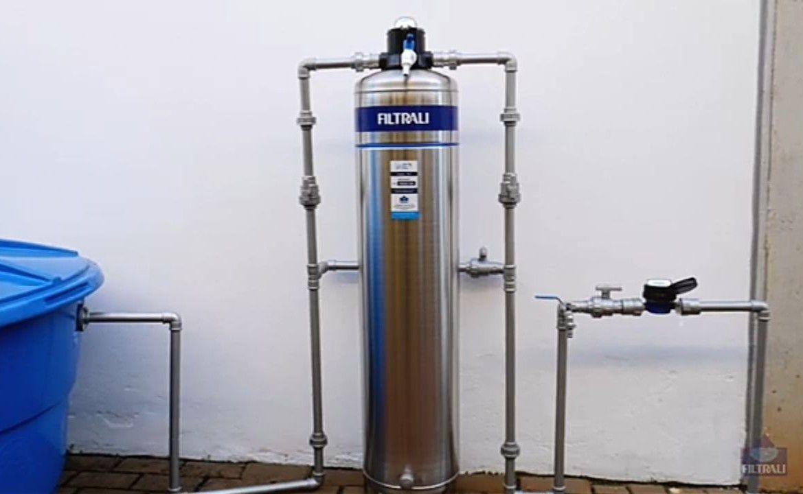 Instalação Filtro Industrial