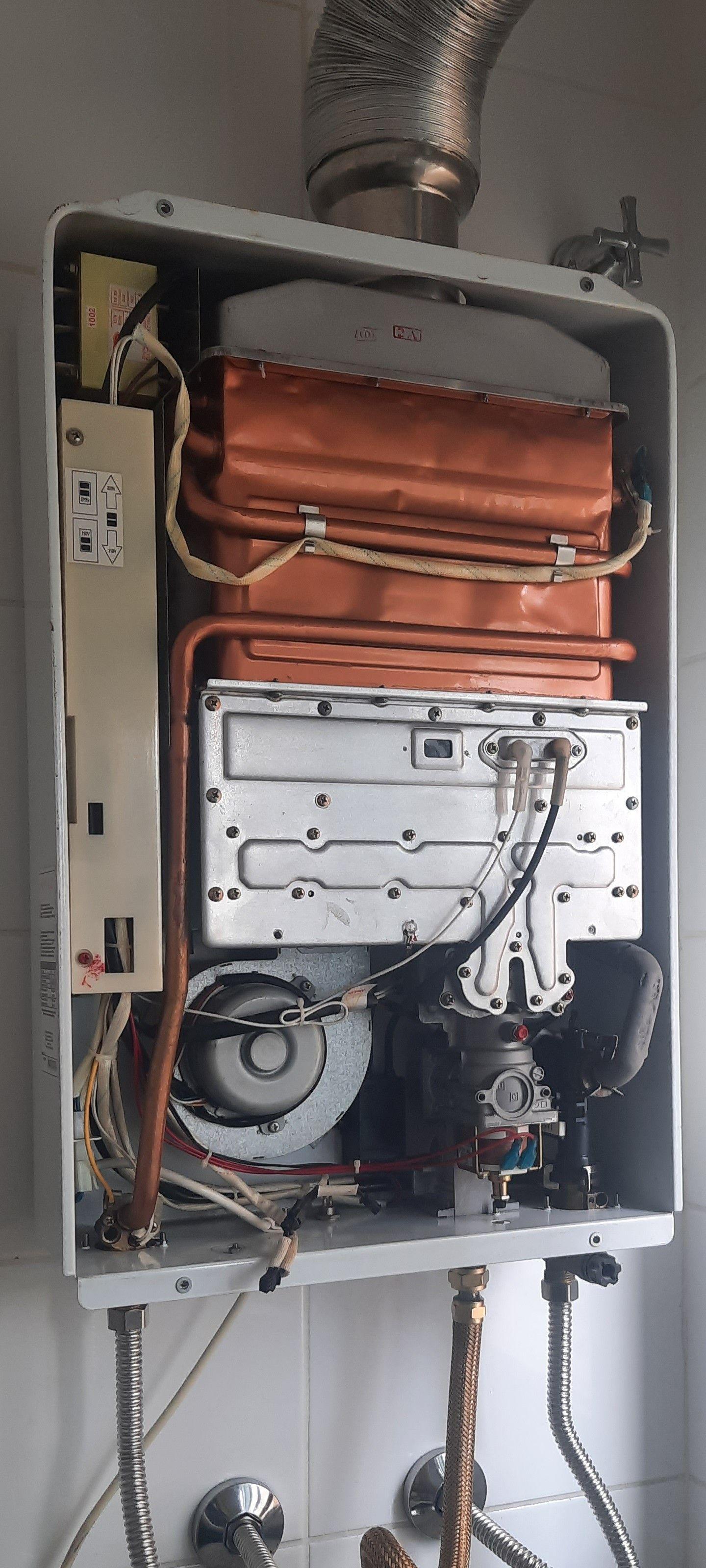 Manutenção preventiva aquecedor komeco!!!