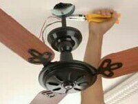 Instalação de ventilador