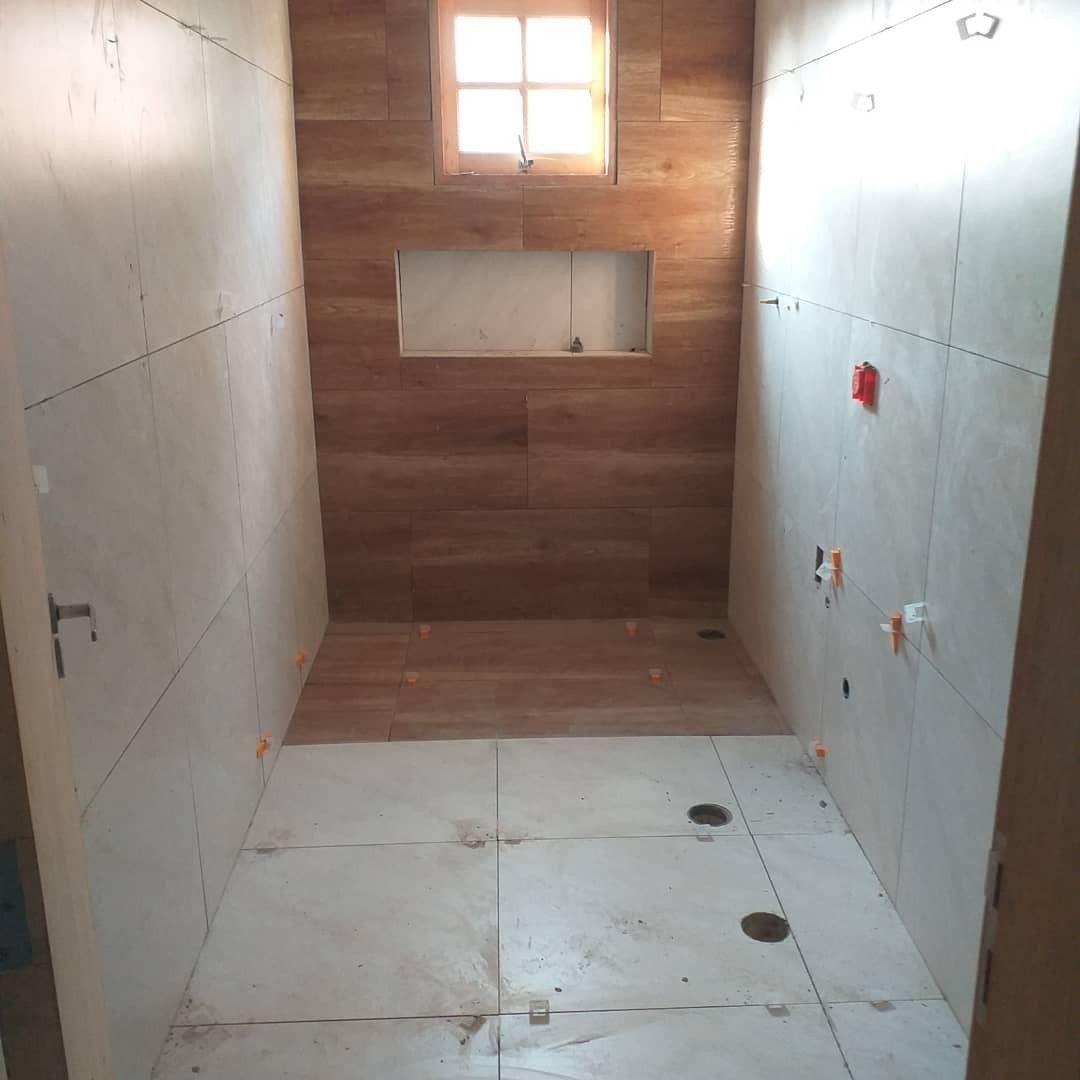 revestindo banheiro