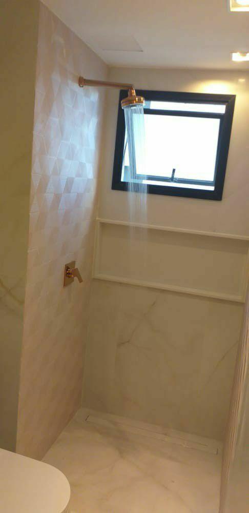 finalização de acabamentos banheiro