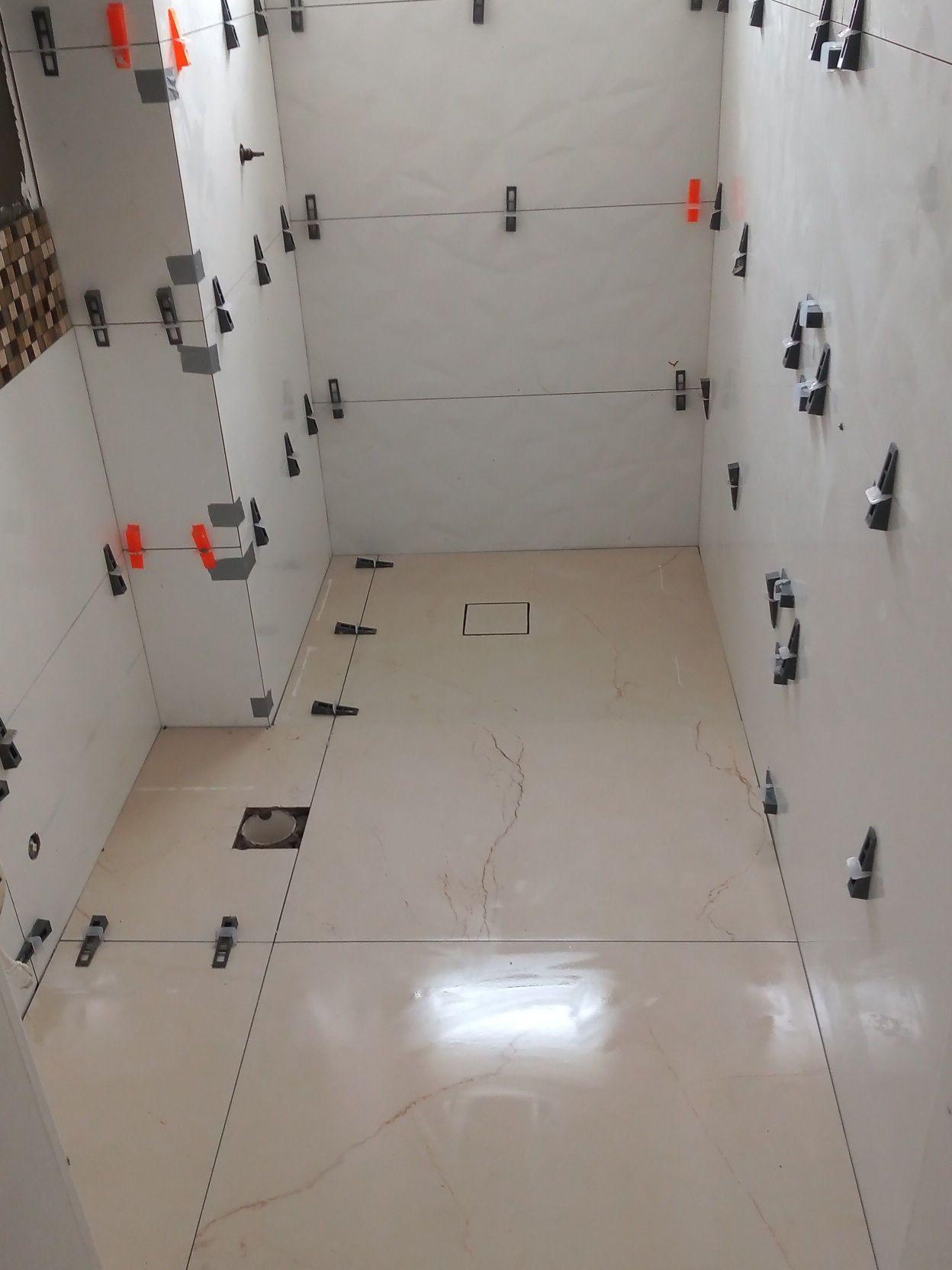 reforma com porcelanato Eliane 1,20x0.45