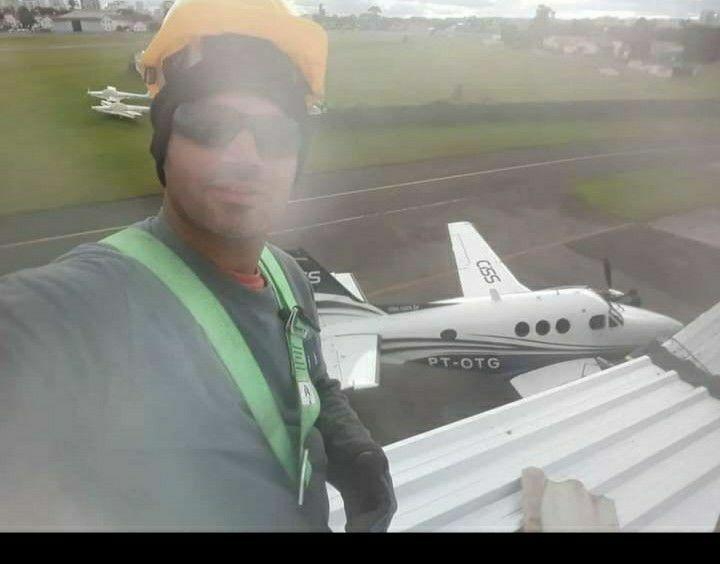troca de telhado aeroporto Bacacheri