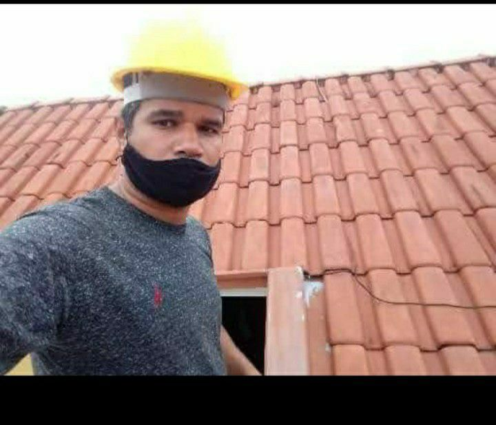 Manutenção de telhados com vazamento