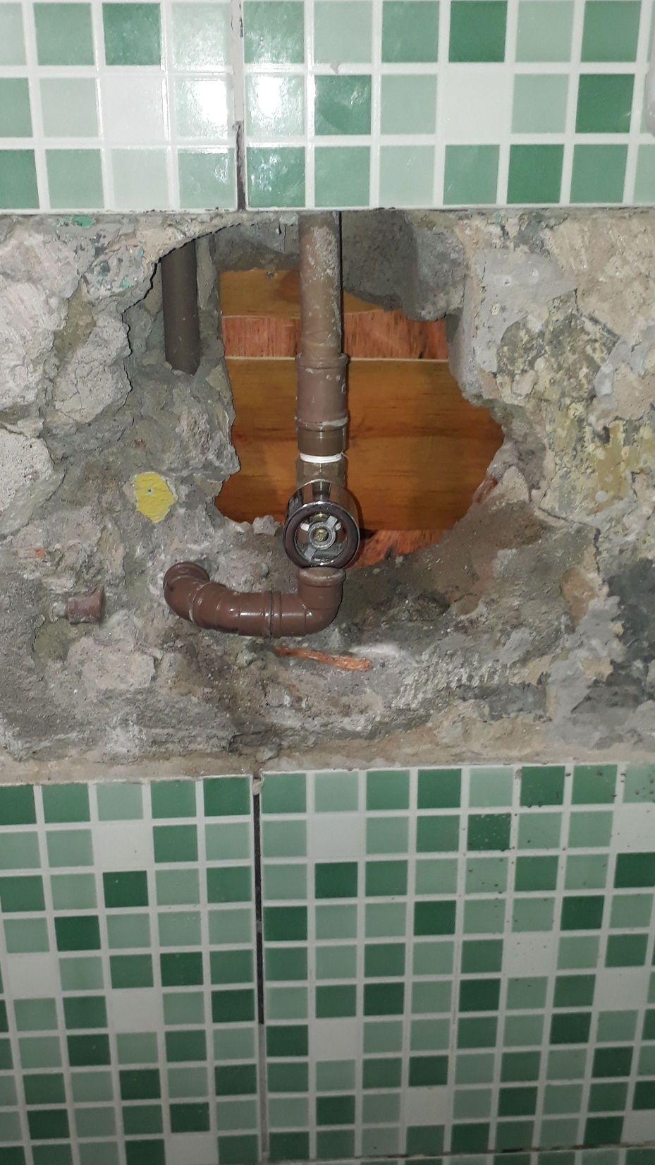 resistro de banheiro