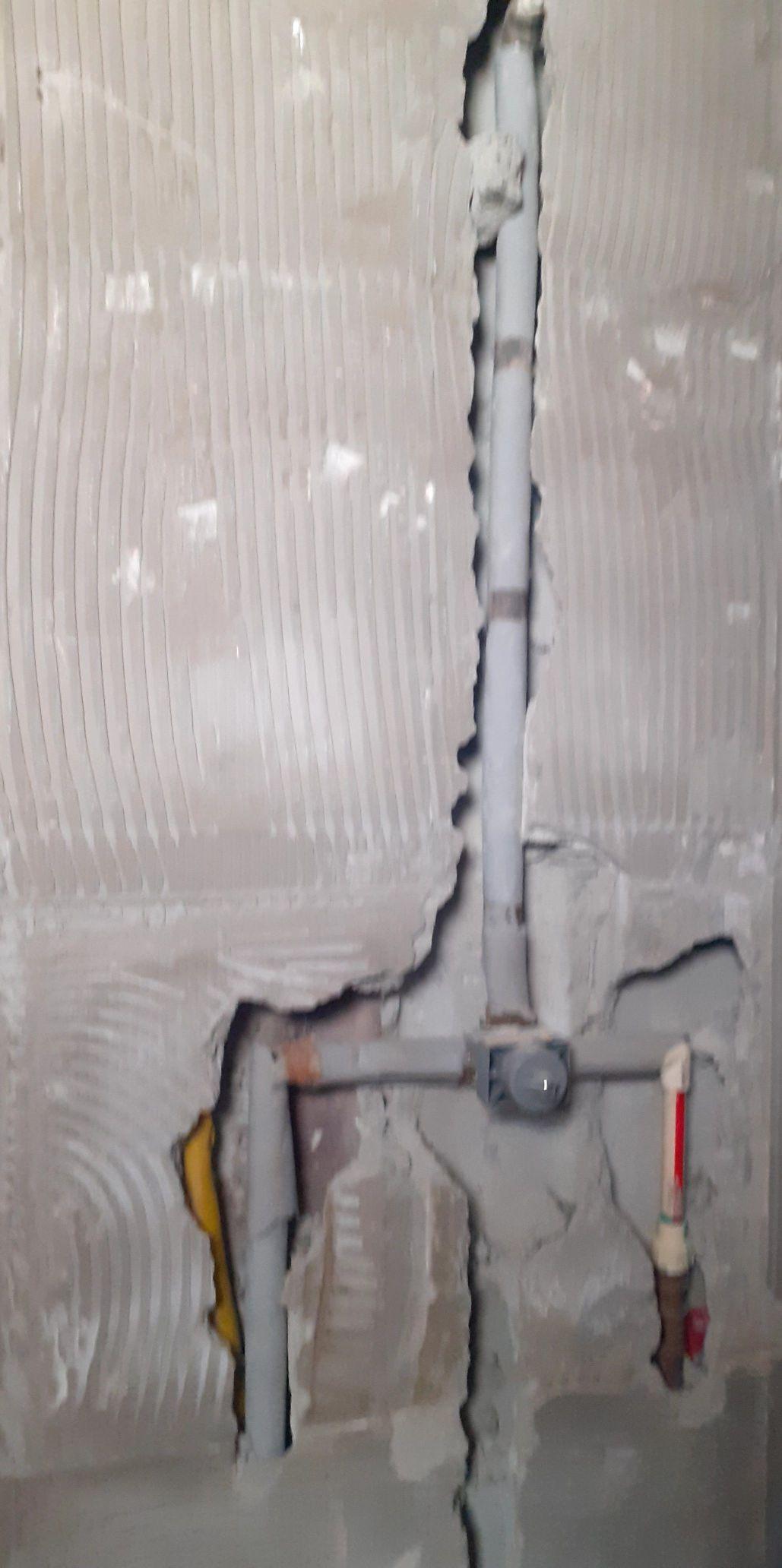 instalação de sistema de água quente e fria