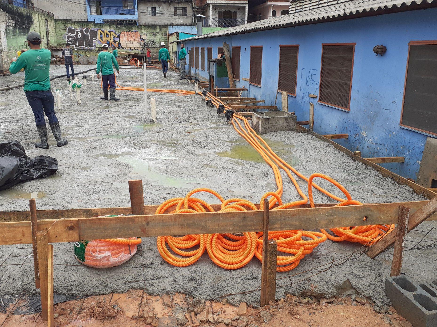 preparando para rede elétrica