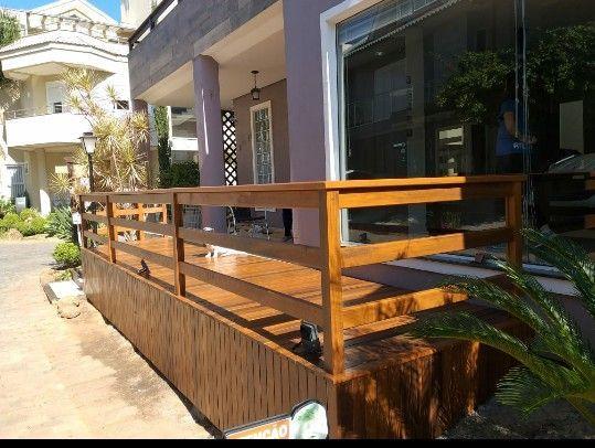 construção do deck