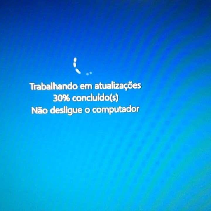 Atualização de Windows