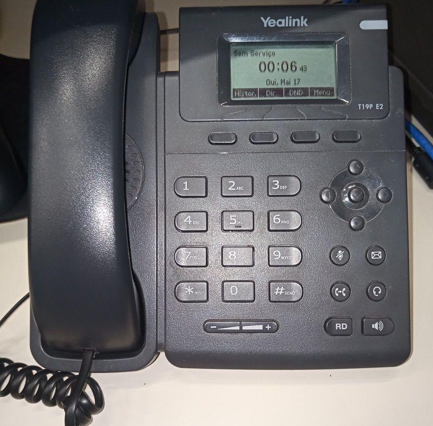 Instalação e Configuração de Telefone IP