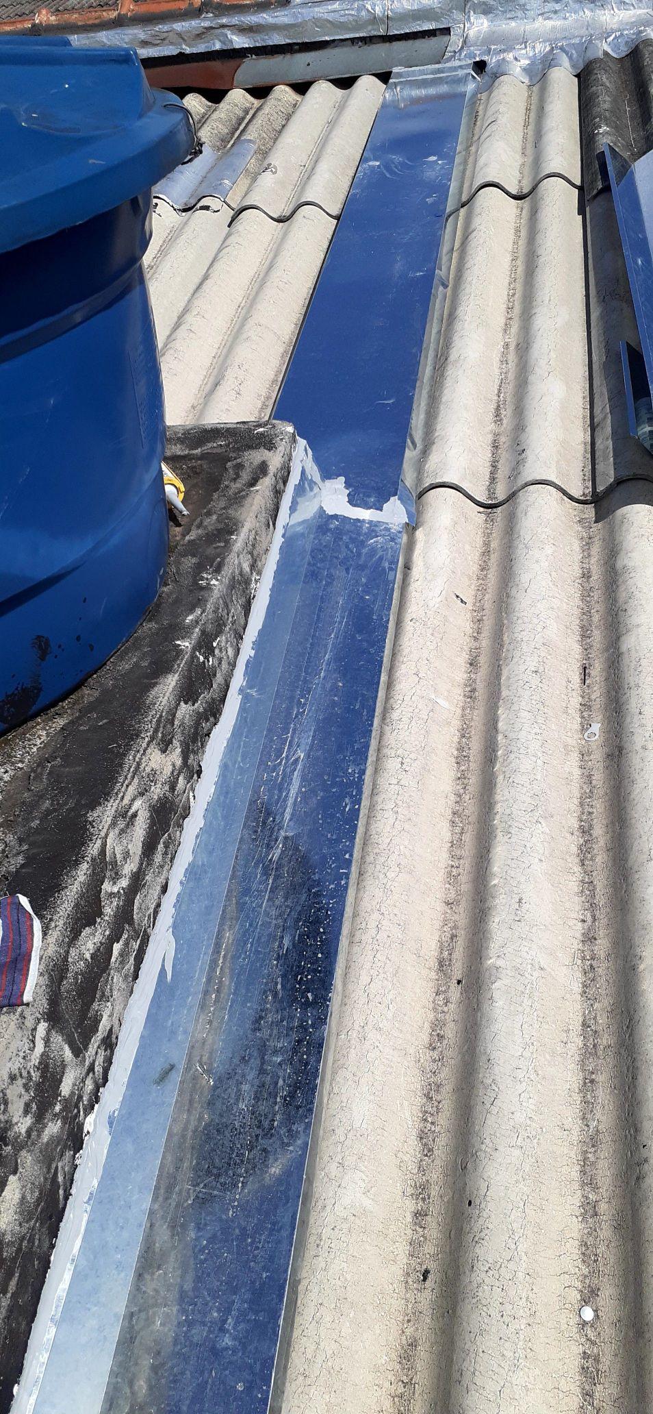 manutenção em telhado instalação de rufos