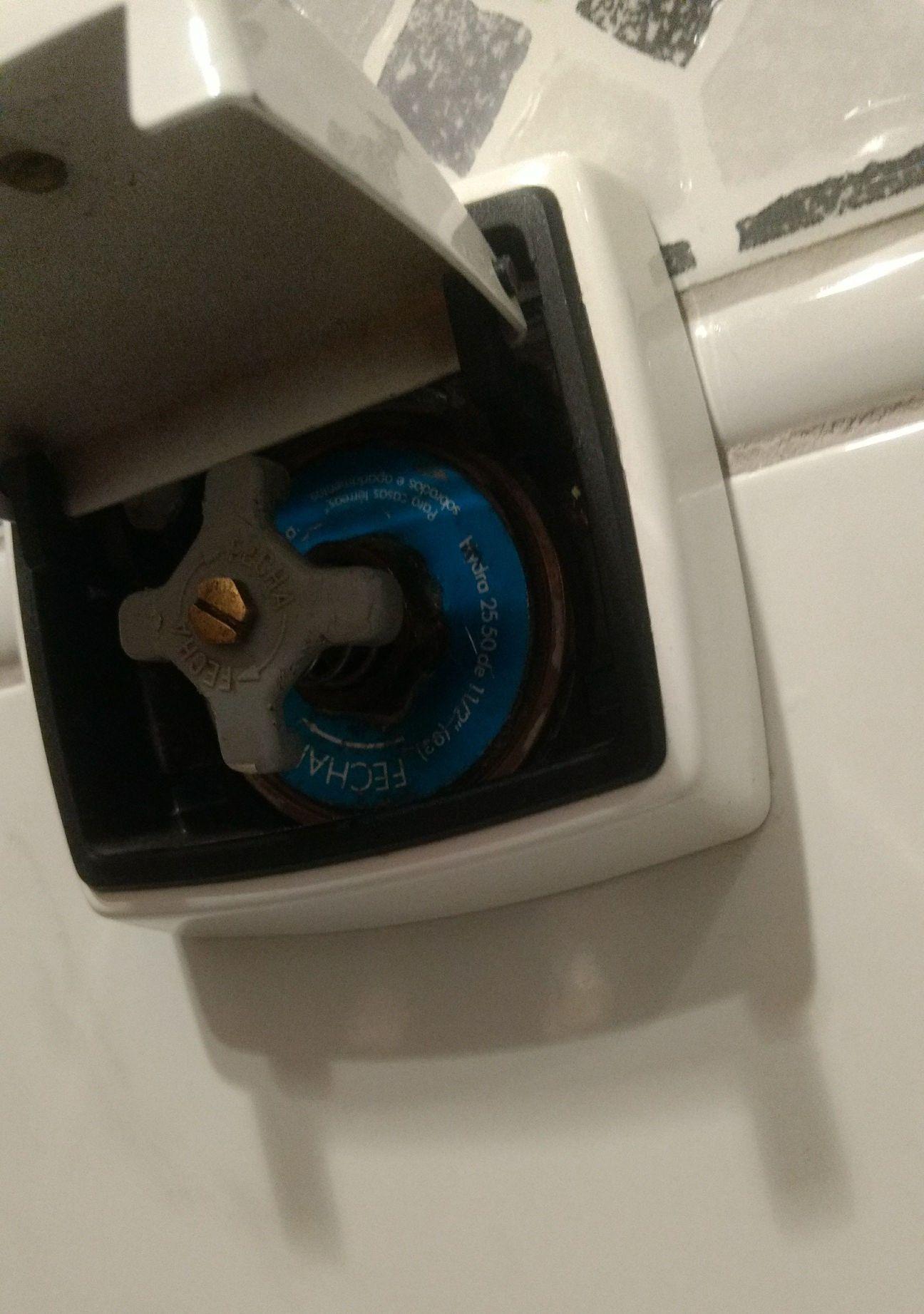 instalação válvula hydra e acabamento