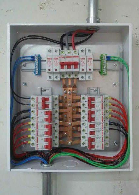 quadro elétrico externo