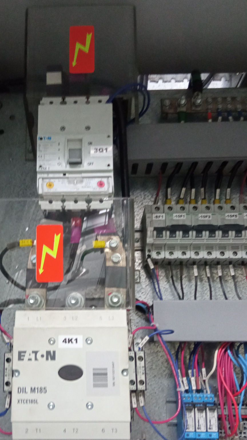 preventiva em quadros elétricos