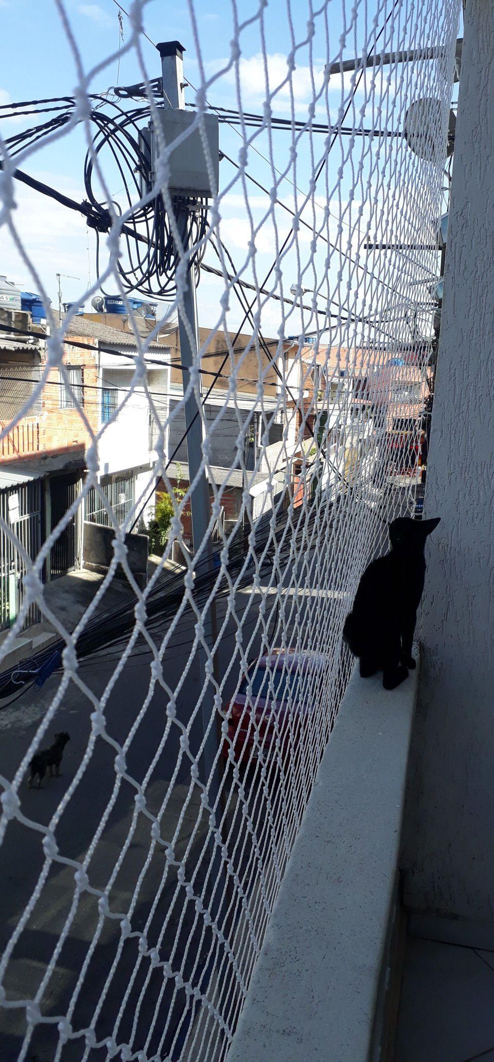 Rede de proteção - Varanda para Gato