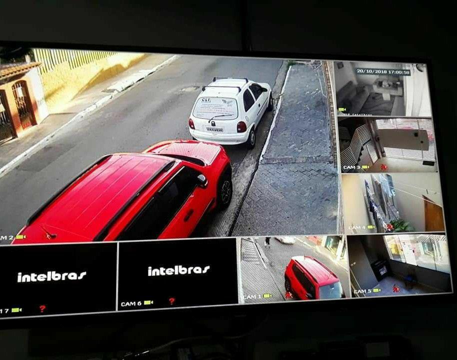Câmeras em alta definição de imagem, via celular