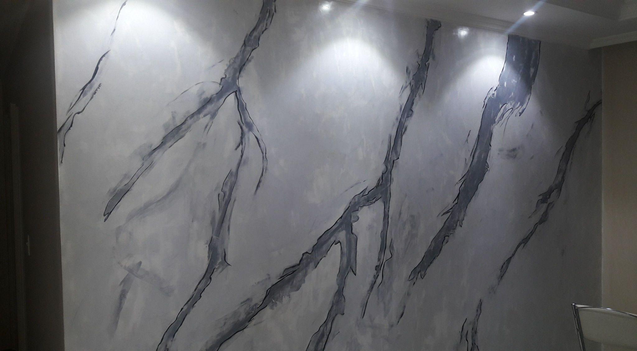 aplicação de marmorato