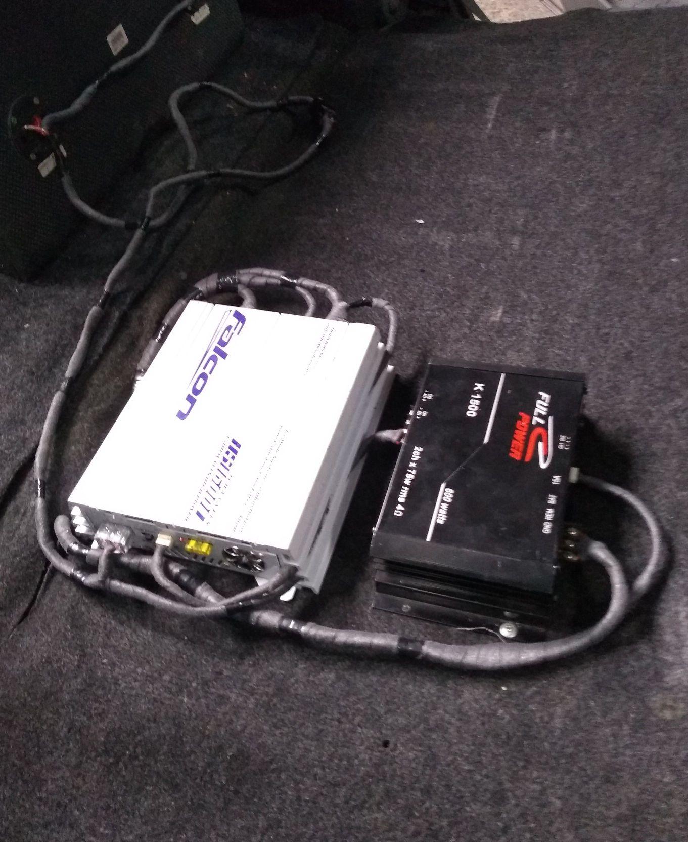 instalação de amplificadores de som