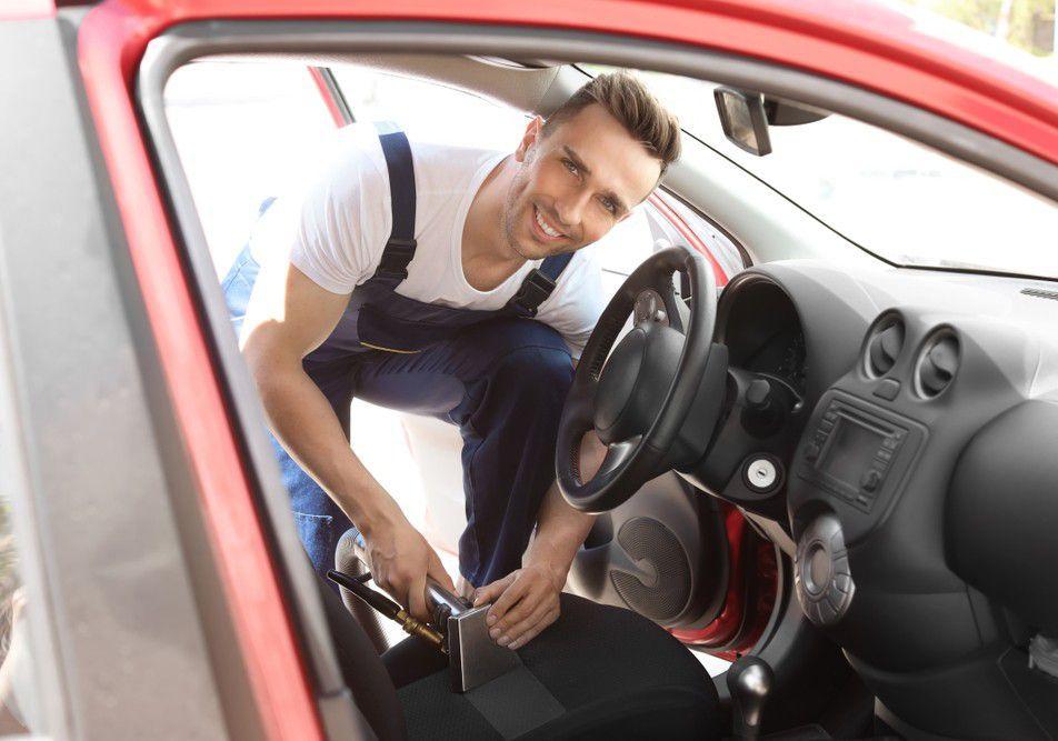Higienização completa Automotiva