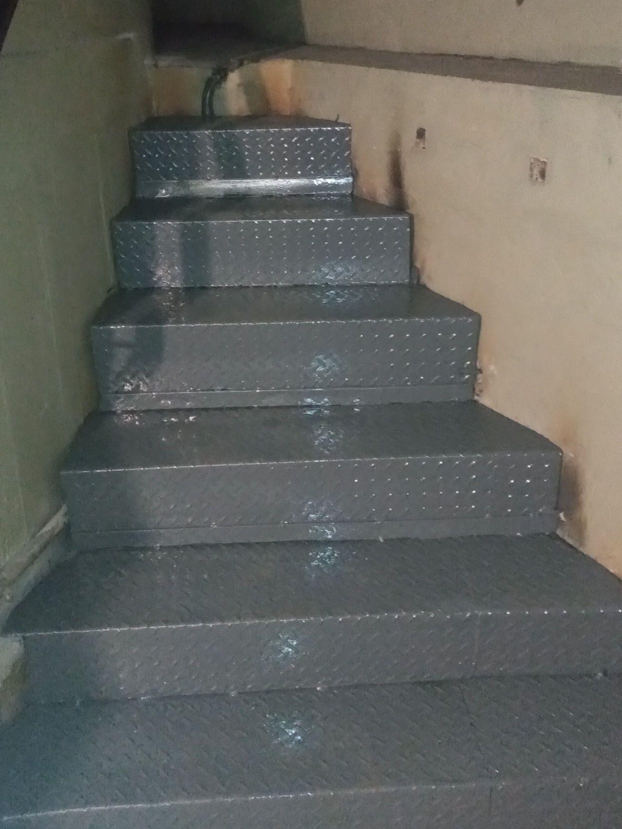 escada pronta