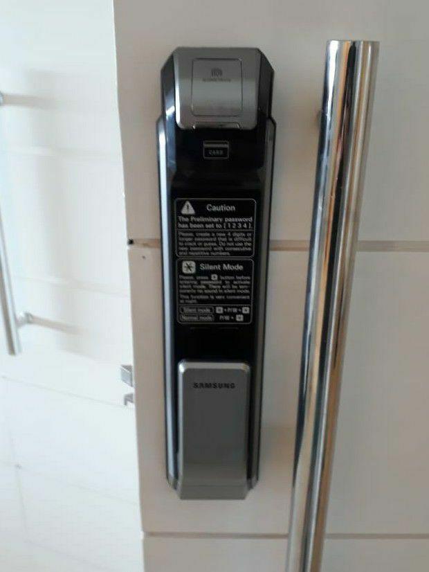 Fechadura Digital Samsung SHS P718
