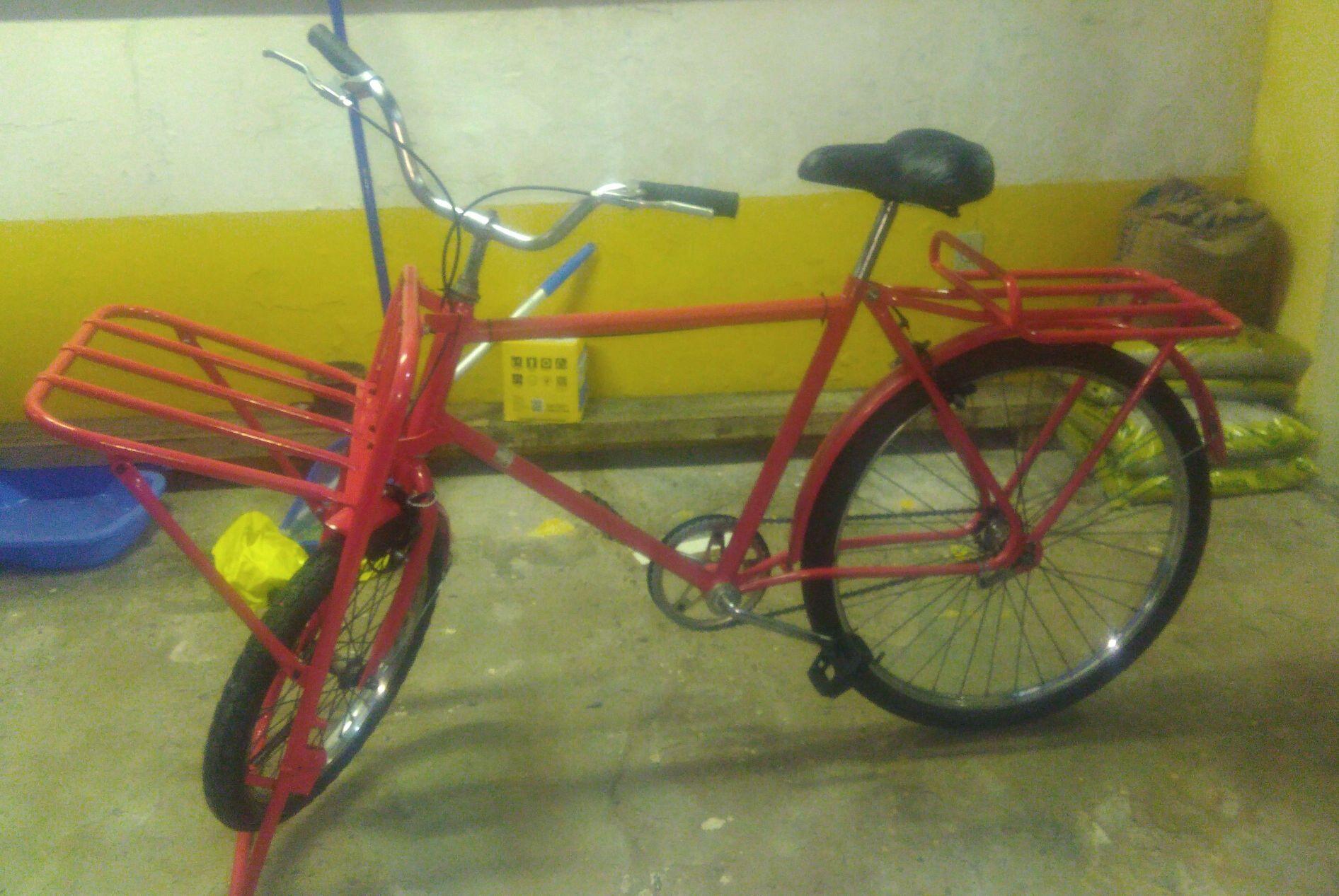 Restauração e Pintura de Bicicleta.