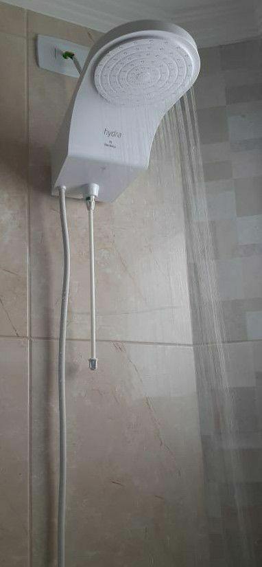 montagem e instalação de chuveiro.