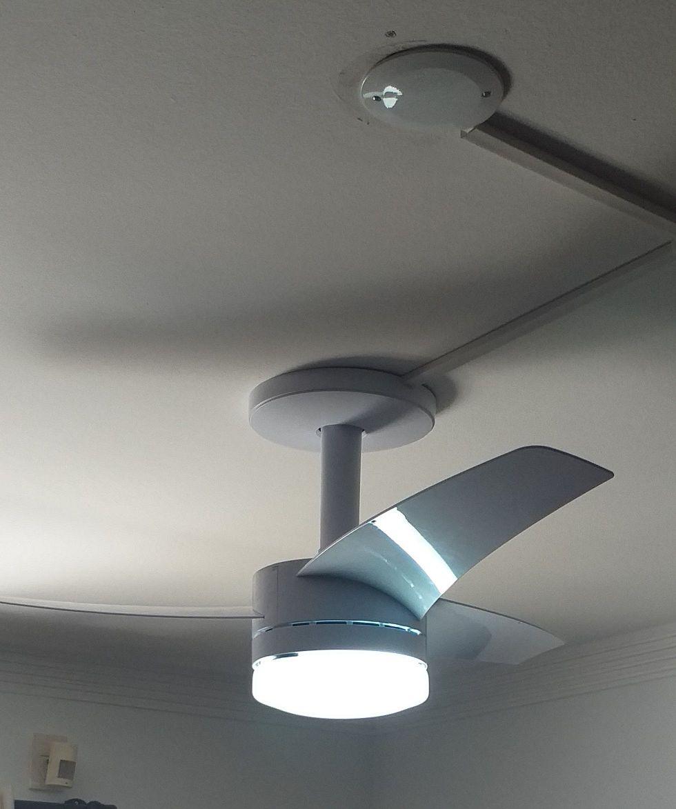 montagem e instalação de ventilador.