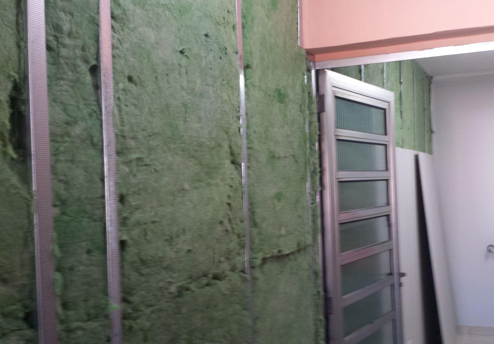 parede Drywall com isolamento térmico acústico