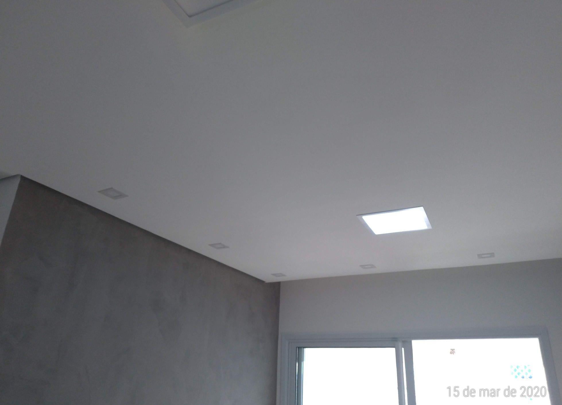 instalação forro drywall tabicado Apto Tatuapé